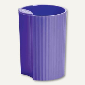 HAN Stifteköcher LOOP Trend Colour - 73x73x100 mm, Kunststoff, lila, 17220-57