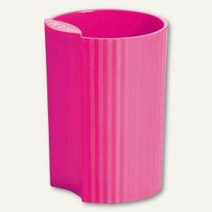 HAN Stifteköcher LOOP Trend Colour - 73x73x100 mm, Kunststoff, pink, 17220-56