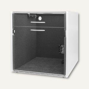 Schallschutzhaube f. Laserdrucker, Innen B 520 x T 550 x H 450 mm, geteilter Dec
