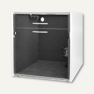 Schallschutzhaube f. Laserdrucker, Innen B 640 x T 600 x H 540 mm, geteilter Dec