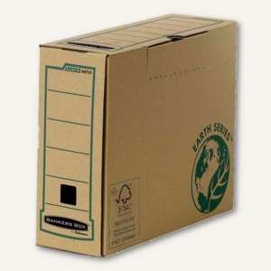 Bankers Box EARTH Archiv-Schachtel A4+