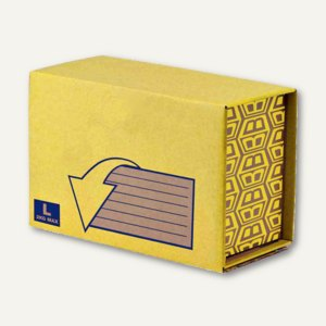 Bankers Box Paket-Versandkarton Missive Heavy Duty L