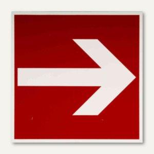 Hinweisschild - Brandschutz / Richtungsangabe