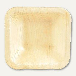 Einweg-Schalen Palmblatt pure