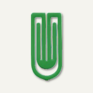 Kunststoff-Büroklammern King Klips