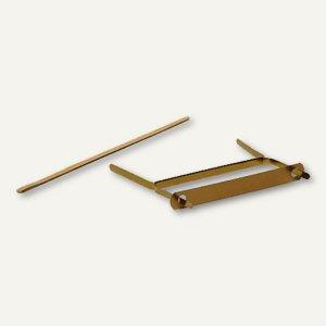 Doppelheftzungen aus Metall - Länge: 170 mm