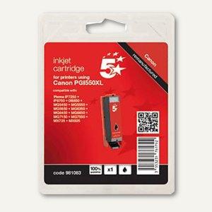 Tintenpatrone kompatibel zu Canon PGI550XLPGBK