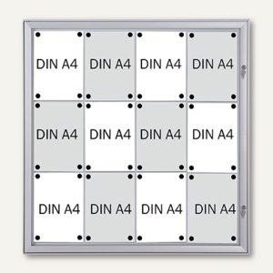 Schaukasten Security für 12x DIN A4