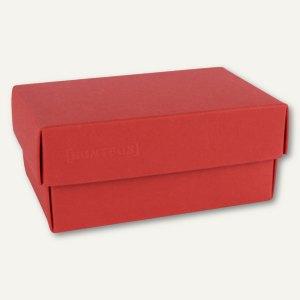 Geschenkschachteln A7, Karton, 10.2 x 6.5 x 4.6 cm, 350 g/m˛, rot, 12er-Pack