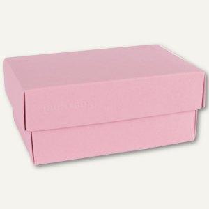 Geschenkschachteln A7, Karton, 10.2 x 6.5 x 4.6 cm, 350 g/m˛, rosa, 12er-Pack
