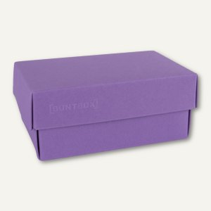 Geschenkschachteln A5, Karton, 26.6 x 17.2 x 7.8 cm, 350 g/m˛, lila, 12er-Pack