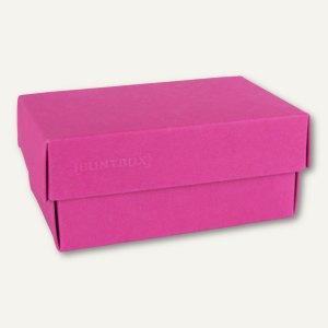 Geschenkschachteln A4, Karton, 34 x 22 x 11.5 cm, 350 g/m˛, pink, 12er-Pack