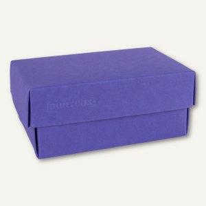 Geschenkschachteln A4, Karton, 34 x 22 x 11.5 cm, 350 g/m˛, blau, 12er-Pack