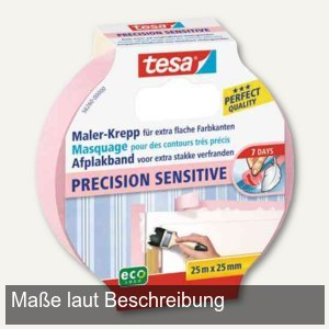 Maler-Krepp Precision Sensitive Abdeckband