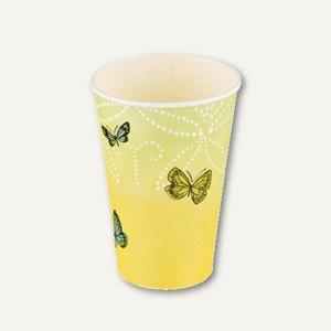 Motiv Trinkbecher Papillons