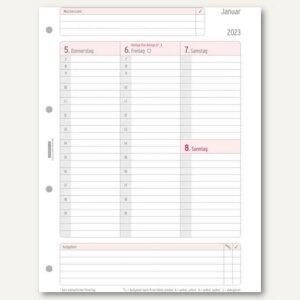 Zeitplaner Kalendereinlage DIN A4
