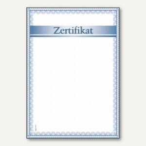 Designpapier Zertifikat
