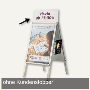 Topschild für Plakatständer SP DIN A1