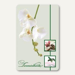 Terminkarte ORCHIDEEN