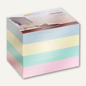 Haftnotizblöcke 4-farbig - 100 x 75 mm