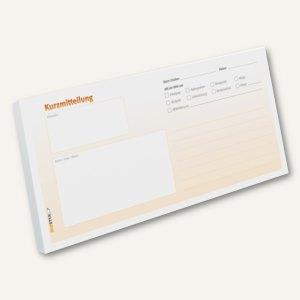 Kurzmitteilungs-Haftnotizblock - DIN lang