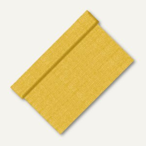"Papstar Tischläufer ""soft selection"", Vlies, 12 m x 40 cm, gold, 6 Stück, 85030"