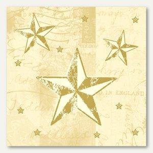 Servietten Star Shine