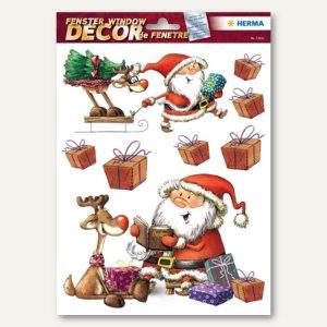 Herma Weihnachts-Fensterbild NIKOLAUSTAG, ablösbare Folie, 40 Sticker, 15111