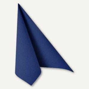 """Servietten """"ROYAL Collection"""", 1/4-Falz, 25 x 25 cm, dunkelblau, 300 Stück"""