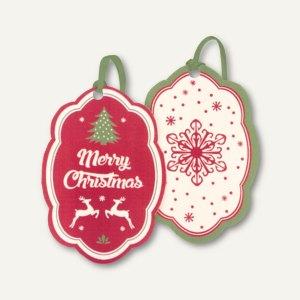 Weihnachtliche Geschenkanhänger BAUM