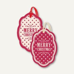 Weihnachtliche Geschenkanhänger CHRISTMAS STARS