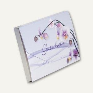 Gutscheinbox mit Karte ORCHIDEE