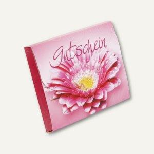 Gutscheinbox mit Karte PINK FLOWER