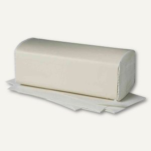 Handtuchpapier Eco, C-Falz, 2-lagig, 250 x 330 mm, 100% Altpapier, weiß, 3.072 S