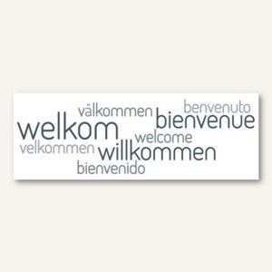 Deko Wandtattoo Willkommen