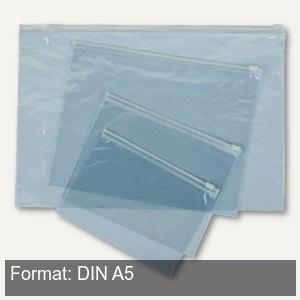 Gleitverschluss-Tasche Clear bag DIN A5, 250 x 200 mm, PVC 0.15 mm, transparent