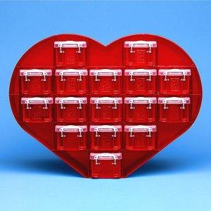 Aufbewahrungsbox Herzform