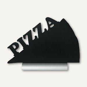 Tisch-Kreidetafel Silhouette PIZZA