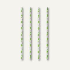 Trinkhalme green Dots