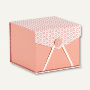 Box mit Klappdeckel DREAM SALMON