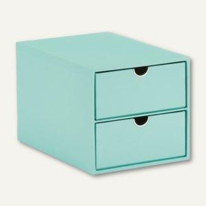 2er Schubladenbox GARDEN - MINT