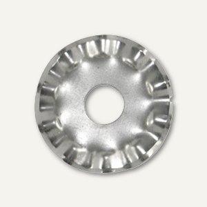 Ersatzklingen für Kreis-Rollschneider Wellenschnitt