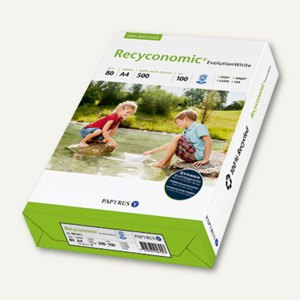 Universalpapier Recyconomic Evolution White