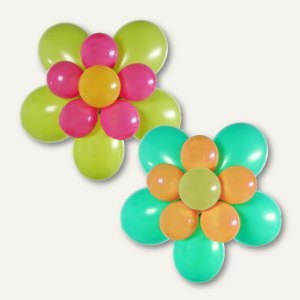 Party-Deko-Sets Luftballons Flower