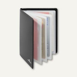 Kreditkartenetui RFID SECURE für 8 Kreditkarten, 86 x 54 mm, anthrazit, 10 Stück