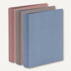 Ringbuch KHAKI - BLUE - BLUSH