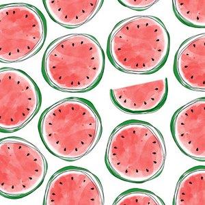 Servietten MELONS, 33 x 33 cm, 3-lagig, Wassermelonen, 20 Stück, 1208-17133
