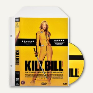 DVD Schutz-Hüllen im Cover-Format