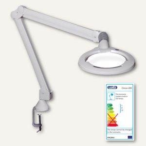 LED-Lupenleuchte Circus - 5 Dioptrien, 10 W, Tischklemme, weiß, CIL026694
