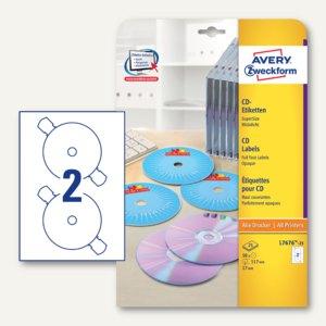CD-Etiketten SuperSize